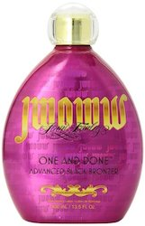 Jwoww ONE AND DONE Tanning Bed Lotion (Advanced Black Bronzer) 13.5oz