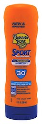 Banana Boat Sport Performance Lotion Sunscreens with PowerStay Technology SPF